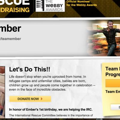 International Rescue Team Ember raised over $4500